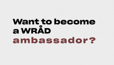 Want to become a WRÅD Ambassador?