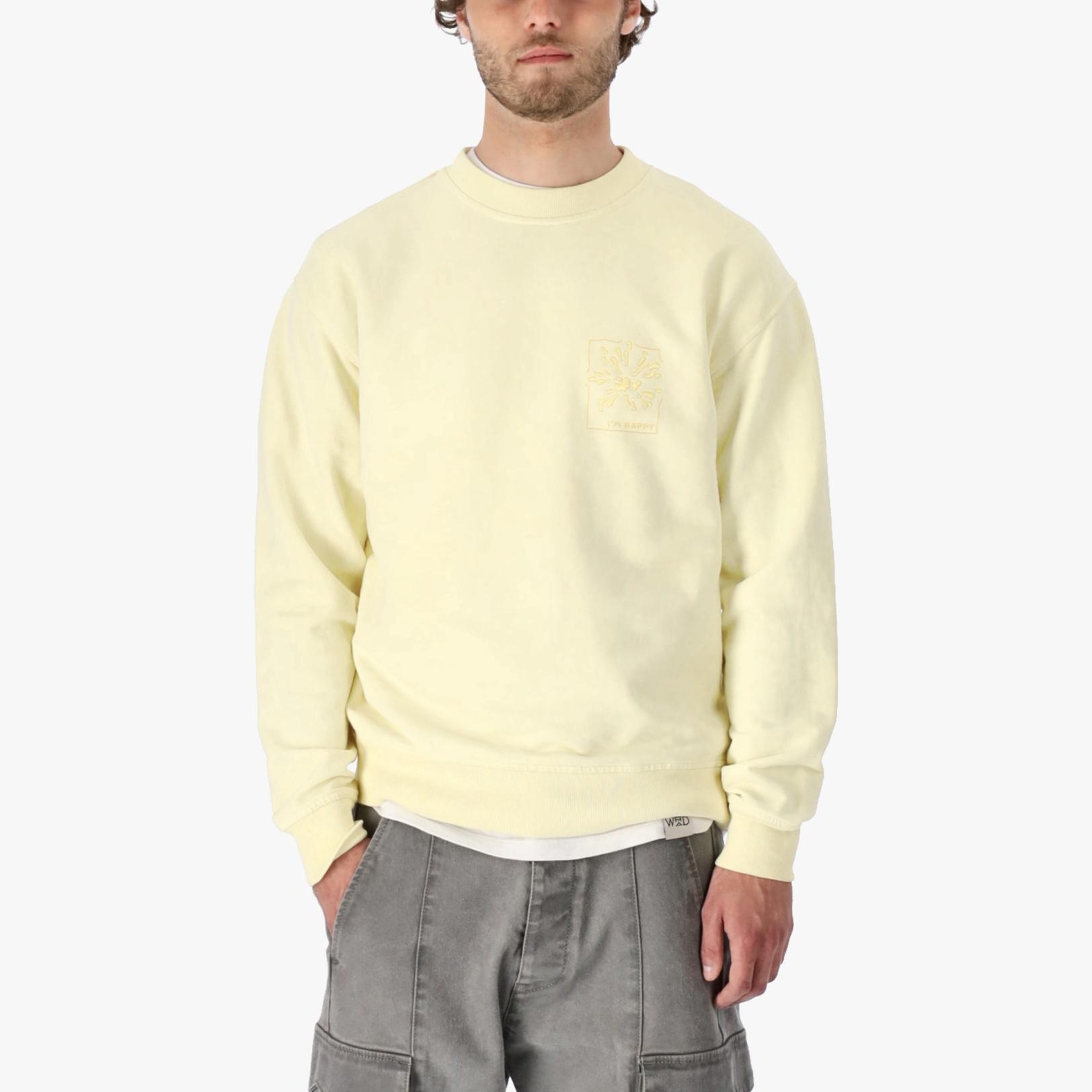 Yellow C-neck